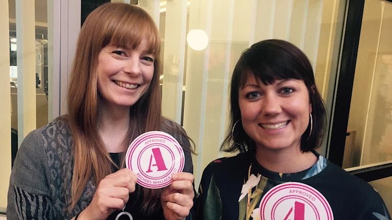 Emilia Henriksson, Film i Dalarna, och Ellen Tejle, A-märkts grundare i Sverige.