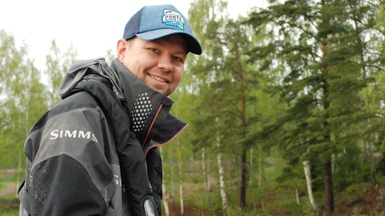 Fiskaren Jonatan Backlund.