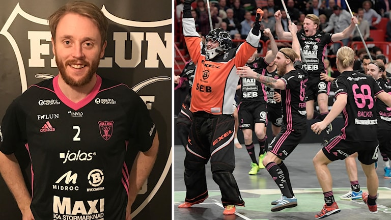 Johan Samuelsson är ny i IBF Falun.