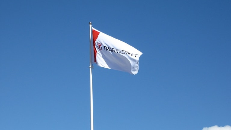 Trafikverkets flagga