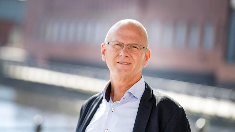 Kjell Nyström, kommundirektör vid Falu kommun.