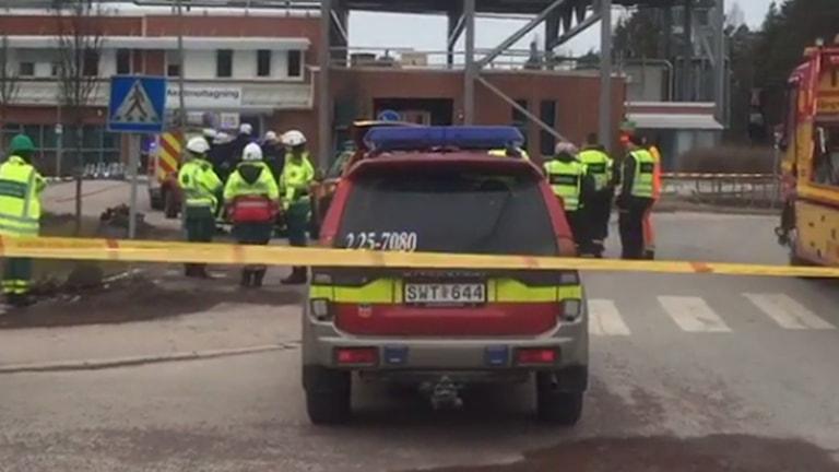 Räddningstjänsten vid Mora lasarett