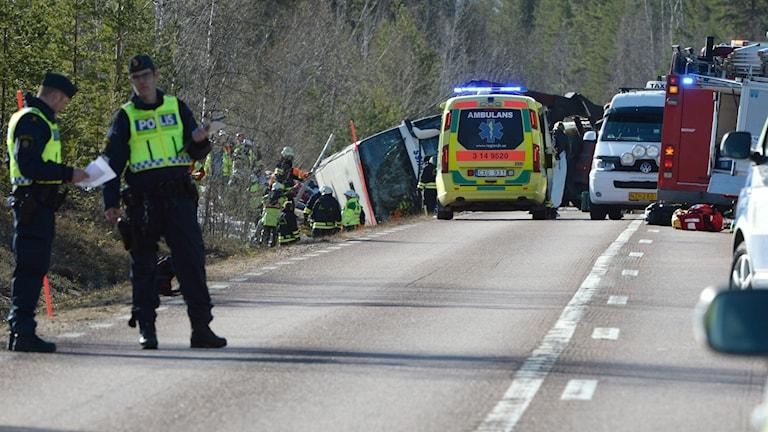 Trött bussförare ska ha orsakat dödsolyckan mellan Orsa och Sveg
