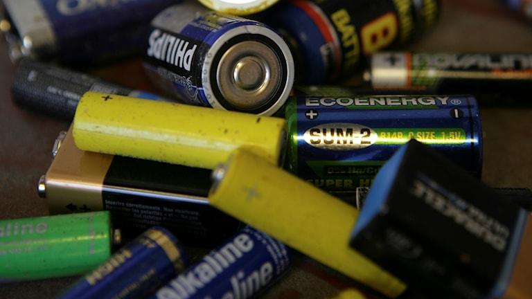 Flera batterier