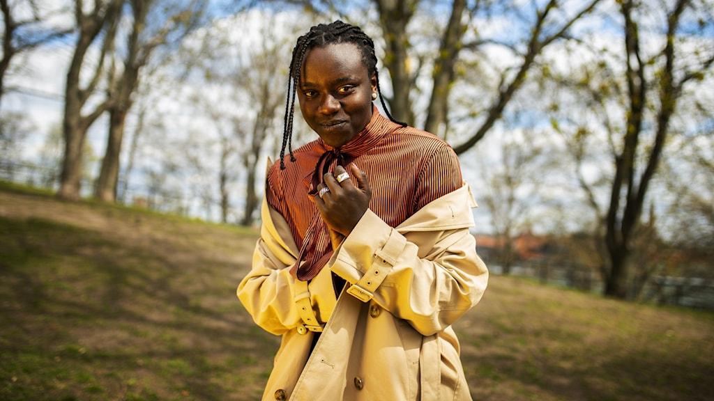 Tousin ÓTusseÓ Chiza vann den svenska Melodifestivalen medÓVoicesÓ och representerar Sverige i Eurovision song contest i Rotterdam i 18-22 maj. Foto: Banfa Jawla