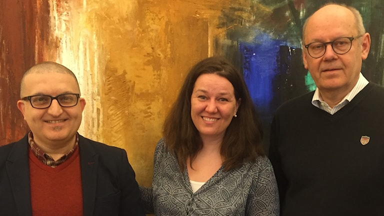 Abed Haskour, Ann-Sofie Fryxell och, Lars-Åke Josefsson