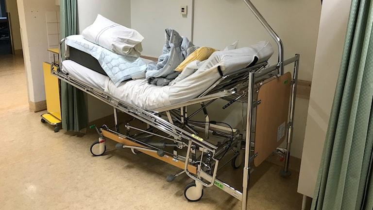 En sjukhussäng
