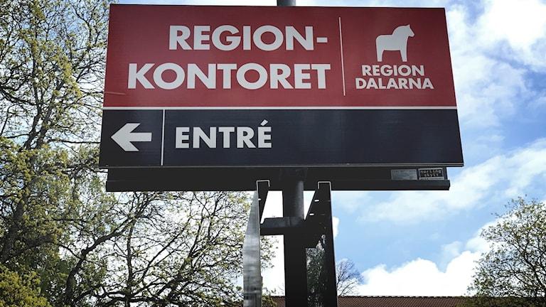 Region Dalarna, skylt