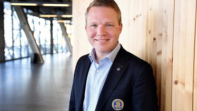 Anders Larsson, ordförande för Svenska ishockeyförbundet.