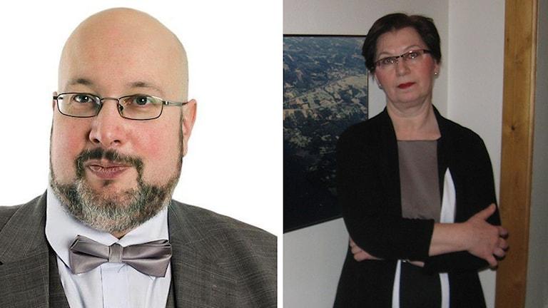 Patrik Oksanen och Anna Hagwall