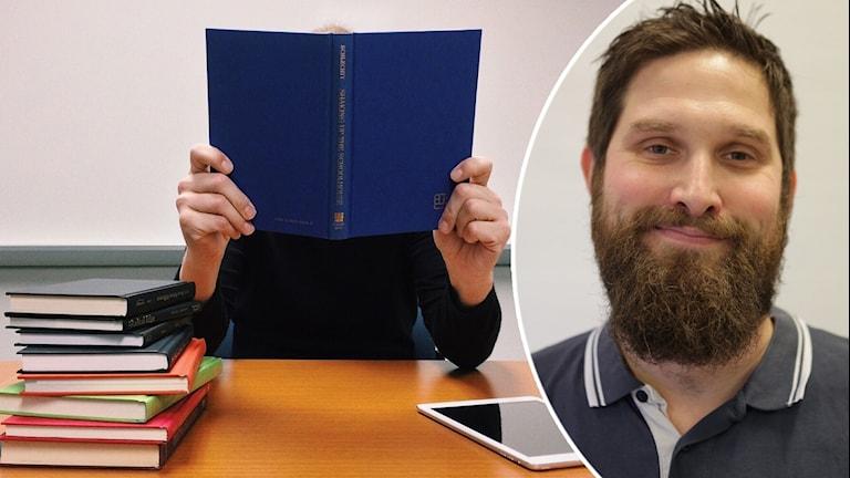 Mattias Axelsson tycker skolan har stort ansvar att lära elever om källkritik.