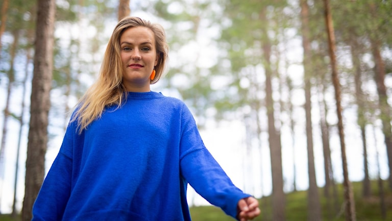 Artisten Maja Ottilia som tävlar i P4 Nästa 2020.