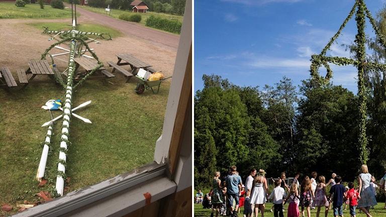 – Igår var det fruktansvärt, jag har inte sovit många timmar i natt, säger Rolf Almstedt i Sörmedsjöns byförening som är med och arrangerar firandet där majstången rasade ner mot midsommargästerna.
