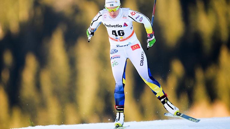 Svenska skidåkaren Anna Haag från Orsa.