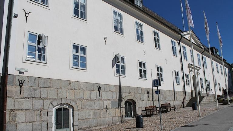 Rådhuset i Falun sett från sidan.