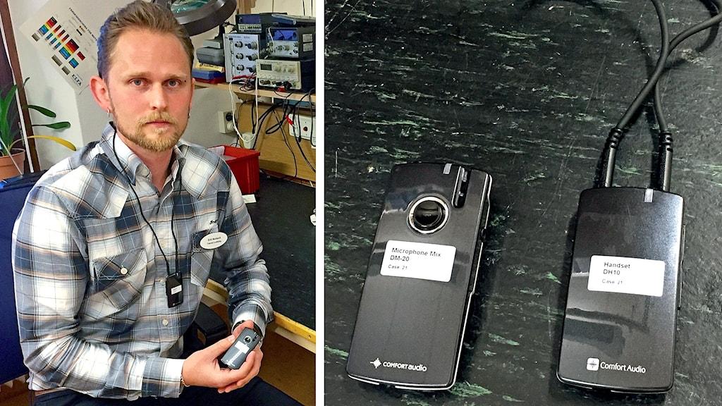 Erik Nerback, Landstingets Dalarnas hörselvård.