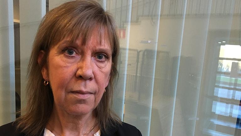 Ledarskribenten Lilian Sjölund från Ludvika.