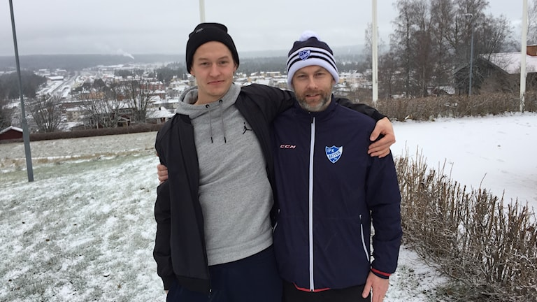 Två män i Rättvik