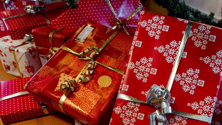 Flera julklappar