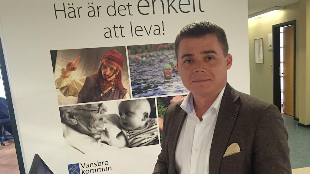 Oscar Fredriksson kommundirektör i Vansbro