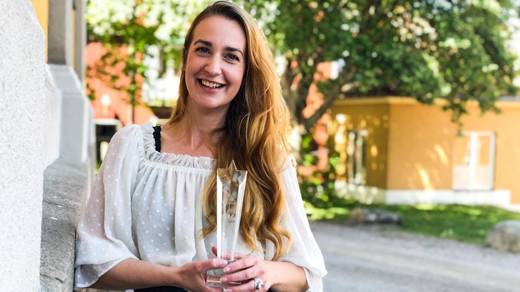 Fanny Wedmark, vinnare av P4 Nästa Dalarna.