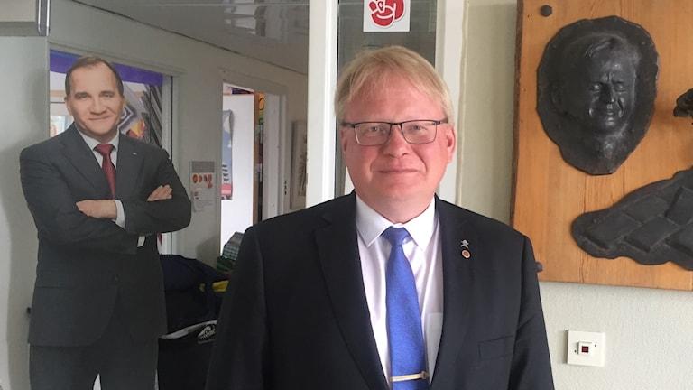 Peter Hultqvist - socialdemokratisk försvarsminister och länsordförande i Dalarna