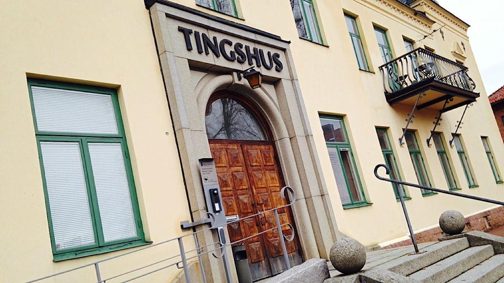 Mora tingsrätt. Foto: Jennie-Lie Kjörnsberg/Sveriges Radio Dalarna