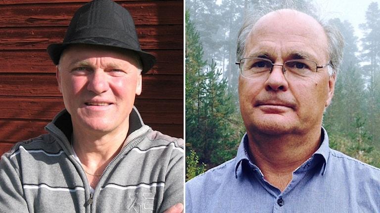 Kjell Tenn (C) och Peter Egardt (S)