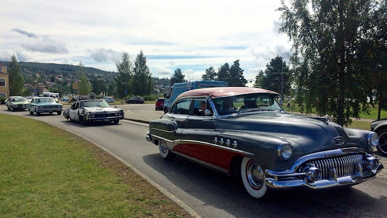Bilar på Classic Car Week 2016.