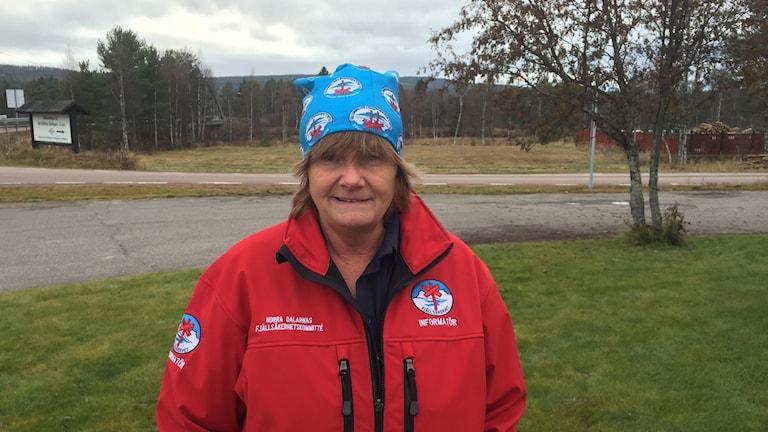 Lena Nilsson, ordförande i Norra Dalarnas Fjällsäkerhetskommitté.