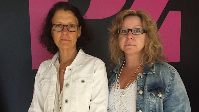 Eva Johansson-Hedenborg och Helena Eskeby