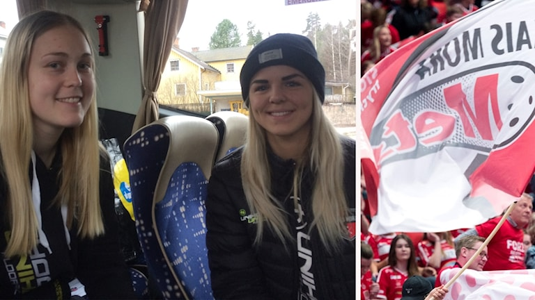 Malin Andreasson och Amanda Hill