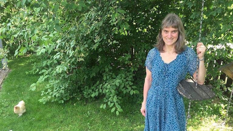Lillian Lundin Stöt vid Naturskyddsföreningen Gävle-Dala, bjuder in till en natt i naturen.