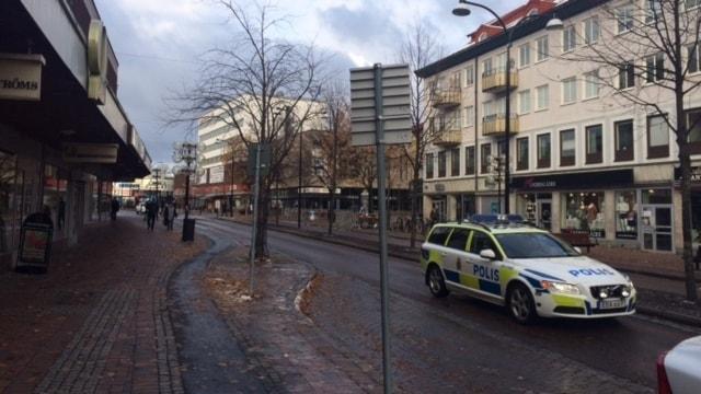 Stationsgatan i Borlänge.