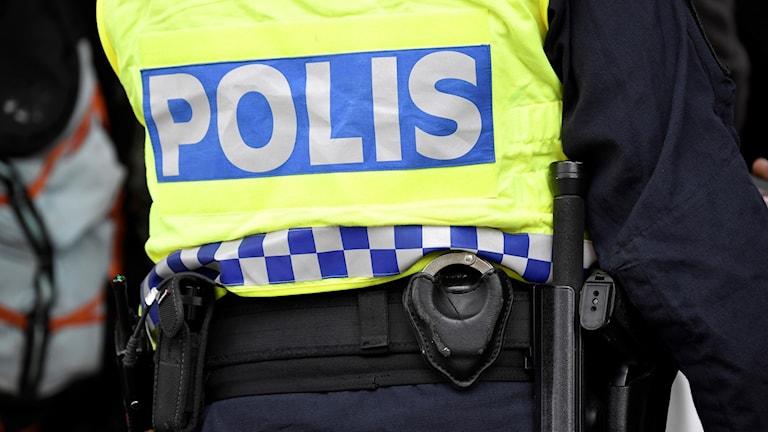 polis rygg
