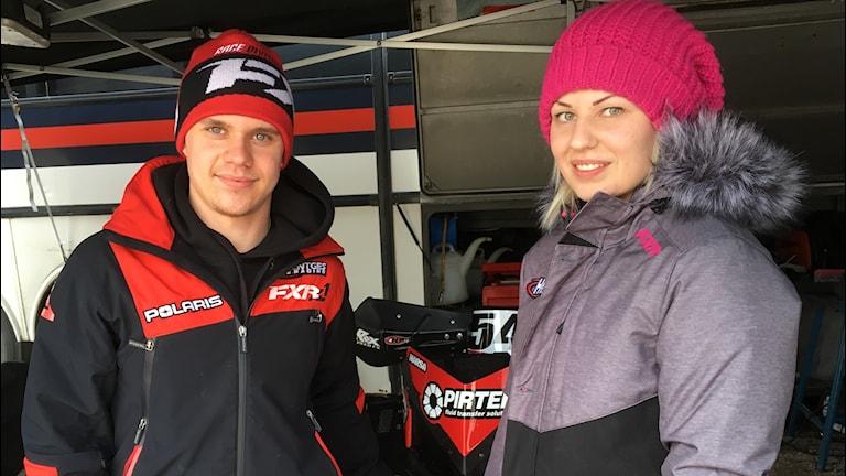 Petter Nårsa och Elina Öhman, skotercross, Clash of nations