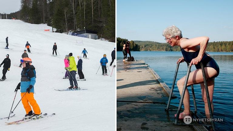 Varmbad, slalom och utegym - Smedjebacken satsar på friluftslivet