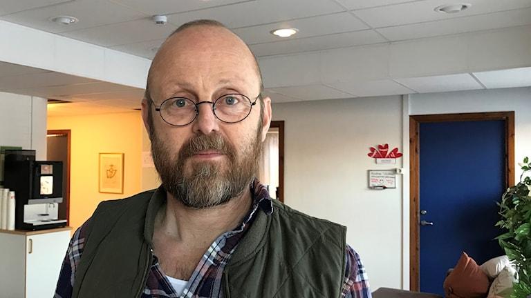 Tomas Ahlin, verksamhetschef individ- och familjeomsorg i Borlänge