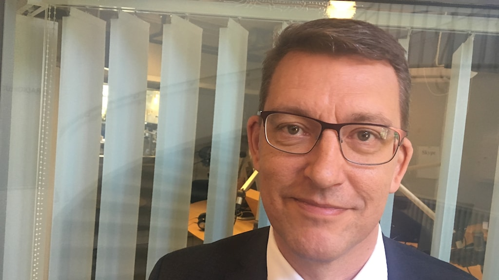 Martin Nosell, ny rektor på Högskolan Dalarna.