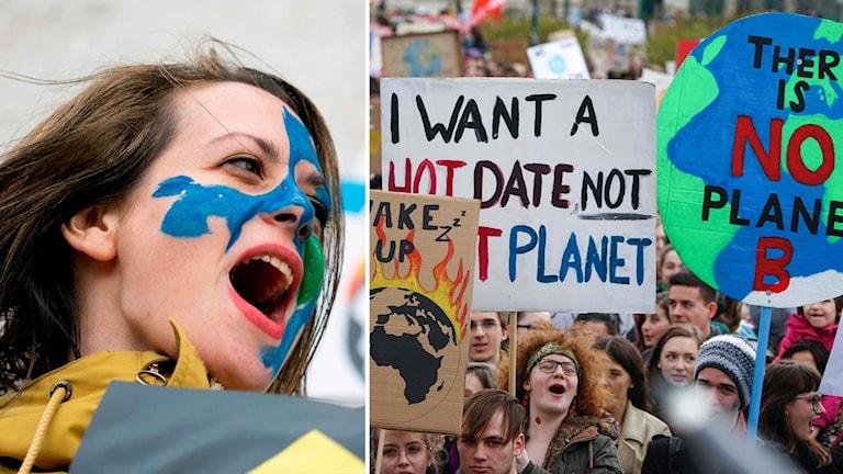 Fredagen 15 mars hölls demonstrationer för klimatet i över hundra länder