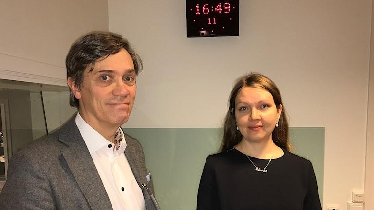 Jonas Frycklund och Marika Lindgren Åsbrink