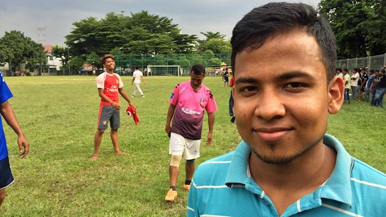 Mohammed Faruk flydde från Burma när han var fem år.