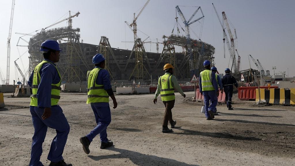 Gästarbetare i Qatar.