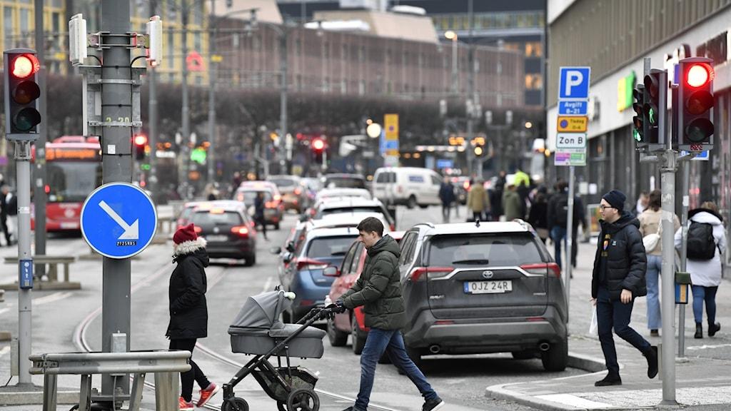 20 personer miste livet i Stockholmstrafiken under förra året, visar Transportstyrelsen siffror.