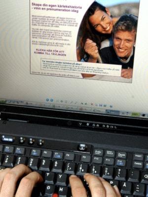 Internet Dating fotografering flickvän vill gå Speed Dating