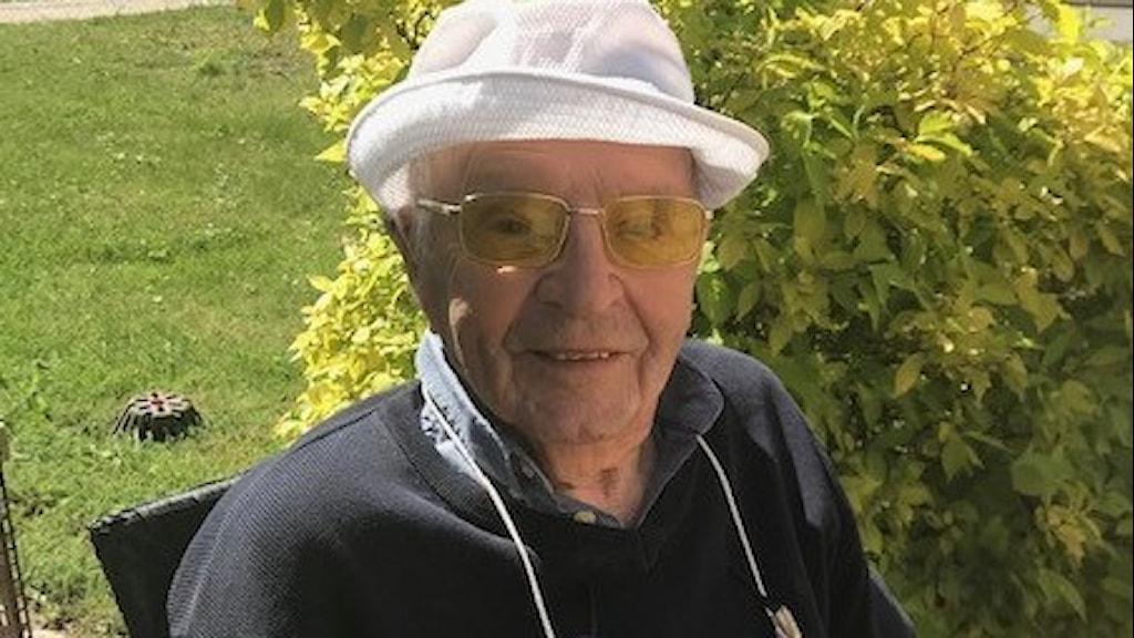 Kjell Bohman som överlevde covid-19.