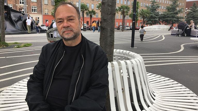 """Terje Bech, initiativtagare till nätverket """"Vi tager gaden tilbage"""" i stadsdelen Nørrebro i Köpenhamn."""