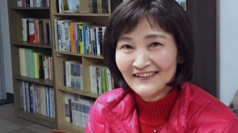 Kang Mi Jin - nordkoreansk avhoppare, nu journalist i Sydkorea.