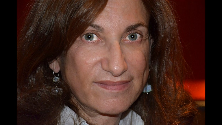 Italienska  Loretta Napoleoni.