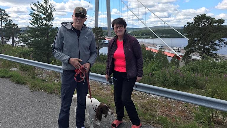 Tor-Are och Eva Vissel, från norska Kongsvinger i Hedemarks fylke.
